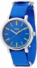 TIMEX Men's Originals Classic Oversized Quartz Blue Band T2P362