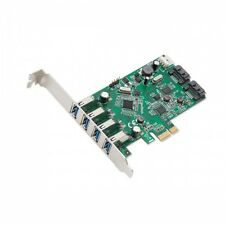 Syba SD-PEX50064 4 Port USB 3.0 & 2 Port SATA III PCI-e 2.0 x1 Card