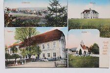 26126 AK Gruß aus Großdorfhain Kirche Schule Gasthof Sächsische Schweiz 1910