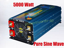 HF 5000watts pure sine wave power inverter DC 12v/AC 220-240v, 60Hz