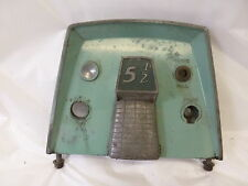 1956 SEARS ELGIN 5.5HP 571-59501 FACEPLATE CONTROL PANEL COVER MOTOR OUTBOARD