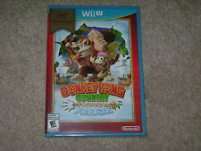 DONKEY KONG COUNTRY TROPICAL FREEZE...NINTENDO WII U...***SEALED***BRAND NEW***