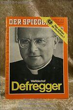 Der Spiegel 32/69 4.8.1969 Weihbischof Defregger