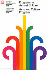 Montreal 1976 Olympics - 10 Official Posters
