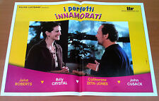PERFETTI INNAMORATI fotobusta poster Julia Roberts Billy Crystal Zeta-Jones Roth