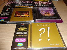 OPERA COMPLETA 4 CD + 1 DVD 3 USCITE DEEP PURPLE NOW WHAT PHOENIX RISING JAPAN