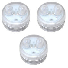 HQRP 3 impermeables LED velas de té, sumergibles multicolores para decoración