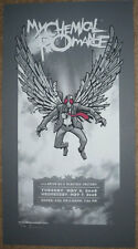 MY CHEMICAL ROMANCE PHILLY 08 SILKSCREEN GIG POSTER S/N