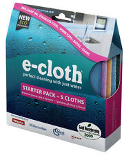 e-cloth Starter Pack - 5 Cloths - FREE P&P