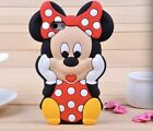 "3D Minnie Soft Silicone Rubber Case Cover Apple iPhone4/4S/5/5S/6 4.7""/6+ 5.5"""