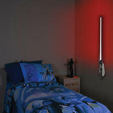 DISNEY STAR WARS DARTH VADER LIGHTSABER ROOM NIGHT LIGHT & SOUNDS - REMOTE