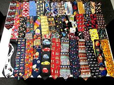 Wholesale Lots (100 PCS.) Mens Novelty Ties