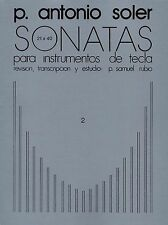 P. Antonio Soler Sonatas Volume Two Learn to Play Piano Music Book