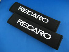 2pcs RECARO Embroidered Car SeatBelt Seat belt Shoulder Cover Pads
