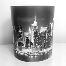 Childrens Kids Black & White Manhattan Skyline New York USA Light or Lamp Shade