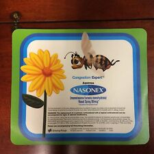 NASONEX Drug Rep MOUSE PAD NEW BEE Bumblebee Advertising Pharma