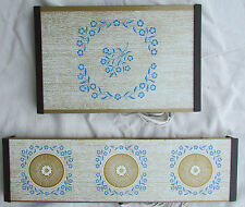 Pair Vintage Electric Warming Tray Warm-O-Tray Hot Plate Party Hostess
