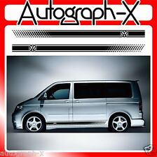 VW Volkswagen T4 T5 Transporter Camper Van Stripes Stickers Graphics Decals 07