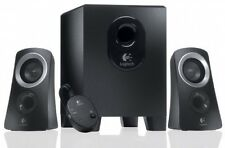 Logitech Speakers System Sub Woofer For Computer 25W Audio Devices
