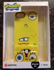 Griffin iPhone Case. 5 5s SE Nickelodeon Sponge bob NIB Changeable Faces