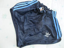 HIGH CUT ADIDAS SHORTS Glanz Sprinter Nylon Racer Retro Vintage Sporthose M 80'S