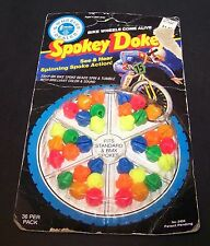 Vintage Spokey Dokeys Snap-on Bike Spoke Beads 1984 Creata 36 Ct Woolworth Sound