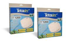 2 xtetratec Filtro Externo FLOSS Pad medios Ex1200 Tetra 1200 De Peces De Acuario