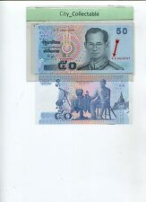 WORLD BANK NOTE - THAILAND 50B PREFIX OA UNC  # B102