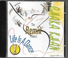 CD ALBUM 11 TITRES--CHAKA KHAN--THE REMIX PROJECT / LIFE IS A DANCE