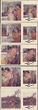 Lot of 5 Vintage Color Photos Pretty Girl w/ Hat Making Man in Hawaii 670852