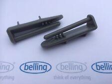 BELLING - 2x lavavajillas Cesto para cubiertos Ferrocarril extremo posterior de la PAC (par)