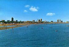 Alte Postkarte - Lignano Pineta - Der Strand