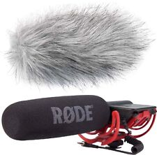 Rode Videomic Rycote Richtmikrofon + KEEPDRUM WS-WH Windschutz