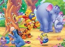#37 NEW 3+ Jigsaw Disney Winnie the Pooh 500 pieces Puzzle Free Shipping