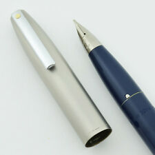 Sheaffer Imperial II Deluxe Fountain Pen - Blue, Medium, TD Fill, NEW OLD STOCK