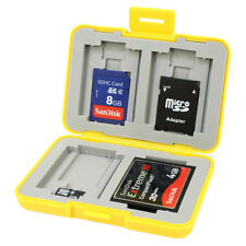 Anti-Shock & Water Resistant Memory Card Case for SD, Micro SD and Compact Flash