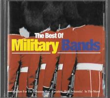cd the best of MILITARY BANDS marines british legion RAF light infantry dragoons