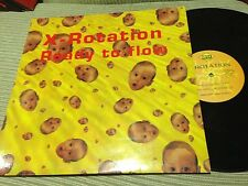 "X-ROTATION - READY TO FLOW 12"" MAXI SPAIN MAX 94 - TRANCE"