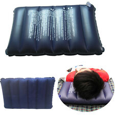 Two-Sided Camping Air Inflatable Pillow Superb Backpacking Travel Head Cushion