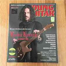 YOUNG GUITAR Magazine 2015 OCT. Printed in Japan DVD Regioncode 2 Richie Kotzen