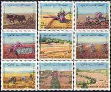 Jordan 1973 Farming/Tractors/Cattle/Ploughing 9v n28417