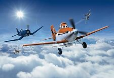 PLANES ABOVE THE CLOUDS Wallpaper Wall Mural for Kids DISNEY PIXAR SKY 368x254cm
