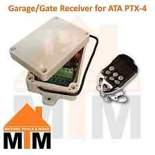 Garage Door Slide Sliding Swing Gate Remote Receiver Compatible with ATA PTX 4
