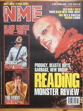 NME 5/9/98 Prodigy cover, Reading 98 review, Eels, Grooverider, Mark E Smith