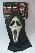 SCREAM GHOST BLEEDS BLOOD Mask Fancy Dress Costume Party Halloween BNWT