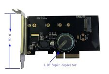 Adapter Card to PCI-E x4 Power-off protection half Height Bracket for SM951 SSD