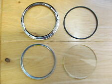 26669 BSA TRIUMPH SMITHS CHRONOMETRIC SPEEDO TACHO CHROME SCREW ON FLANGED BEZEL
