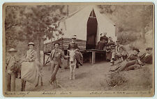 RARE Photo - Green Mountain Falls CO Camp Scene - 1880 Colorado Health Resort