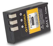 Quality Battery For Nikon D60 EN-EL9 EN-EL9a New