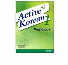 ACTIVE KOREAN 1 WORKBOOK / book + CD / learning English /